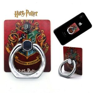 Accessories - Harry Potter Hogwarts Cell Phone Ring/Kickstand